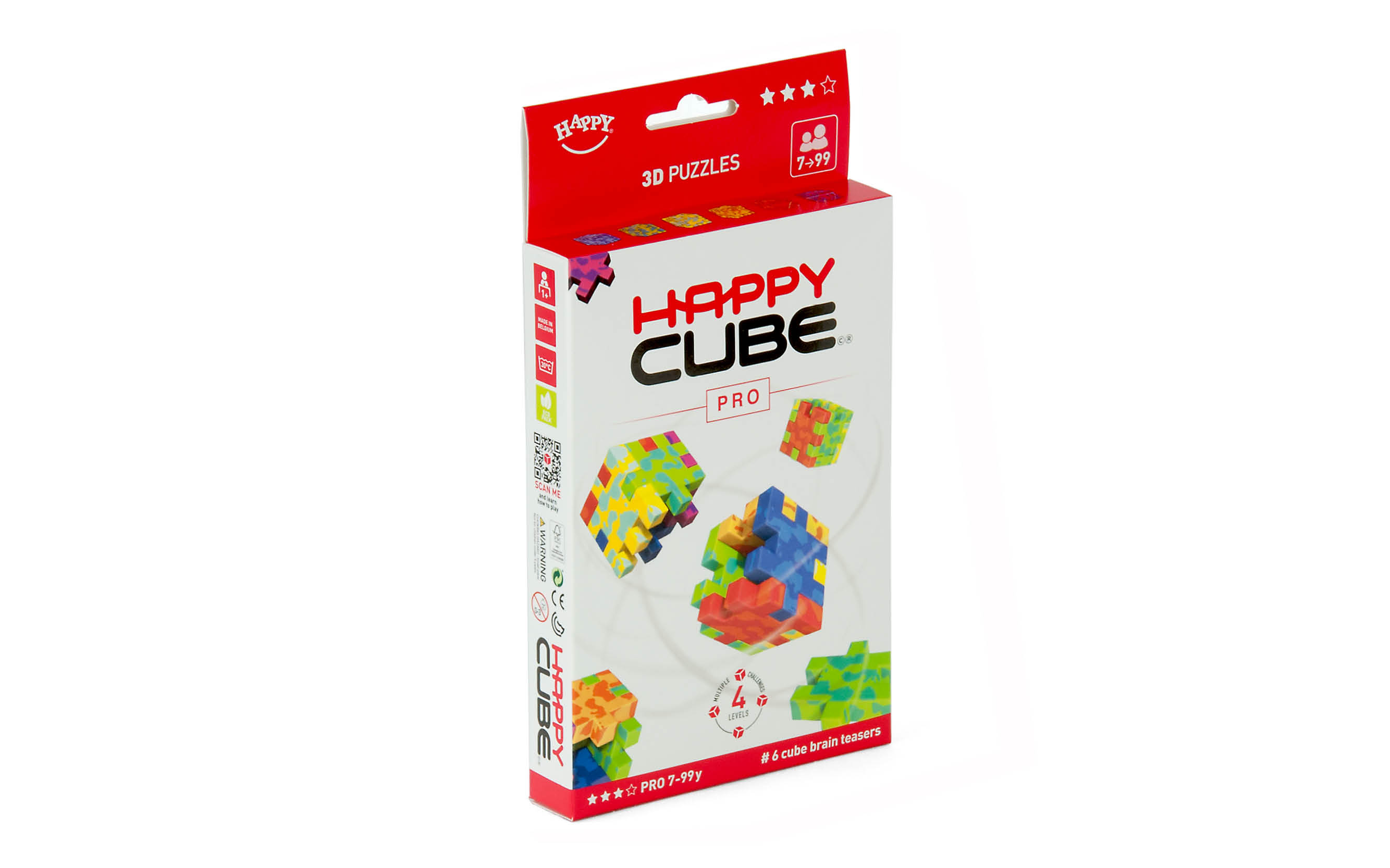 #6 puzzles  age 7 - 99y