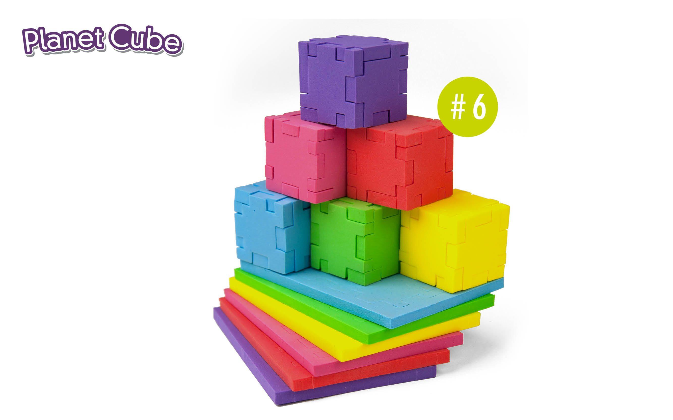 Happy_PlanetCube_6_foam_cubes
