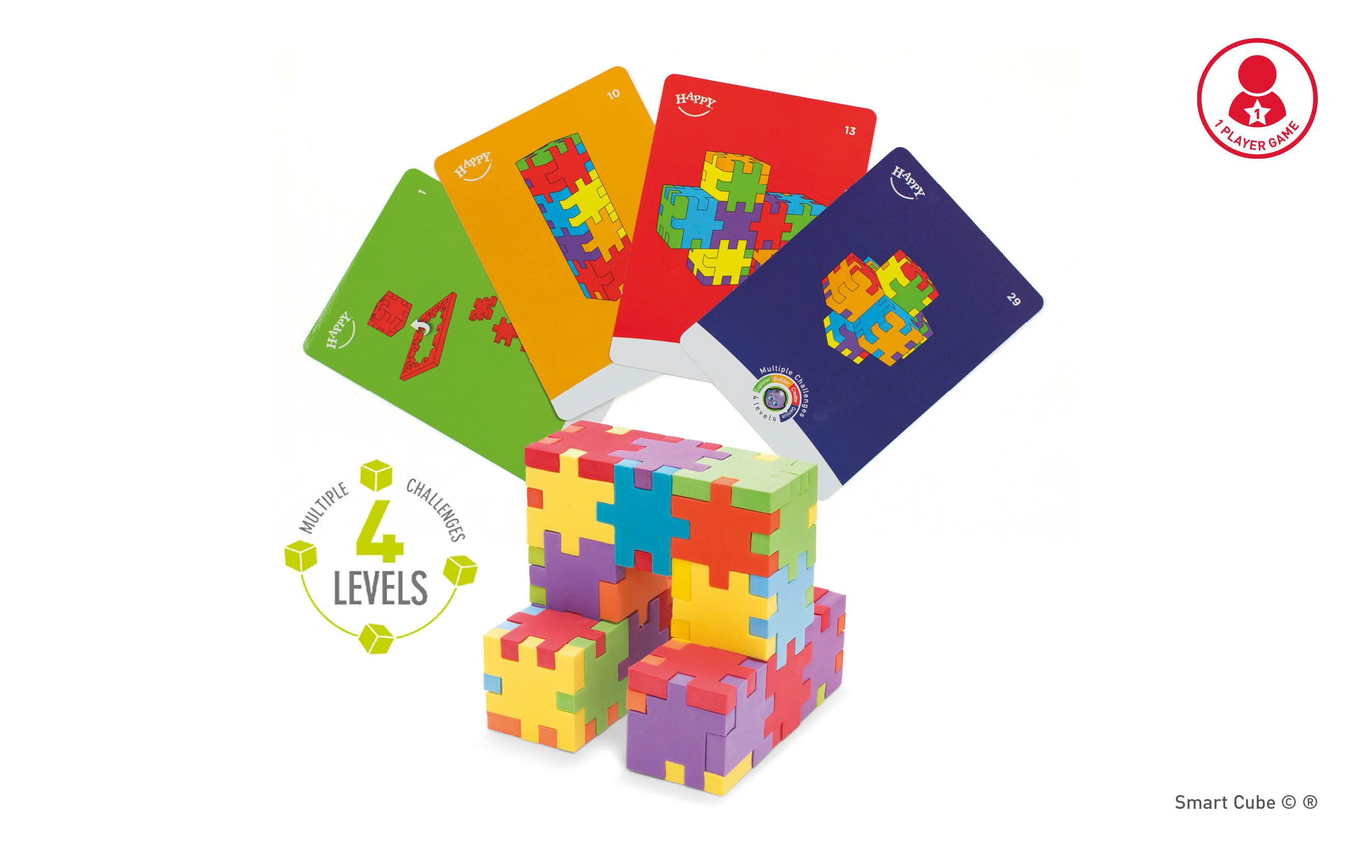 Happy_Smart_Cube_6-pack-4levels-game-challenge-cards-foam-cube-puzzles-3D-2D-game-educational