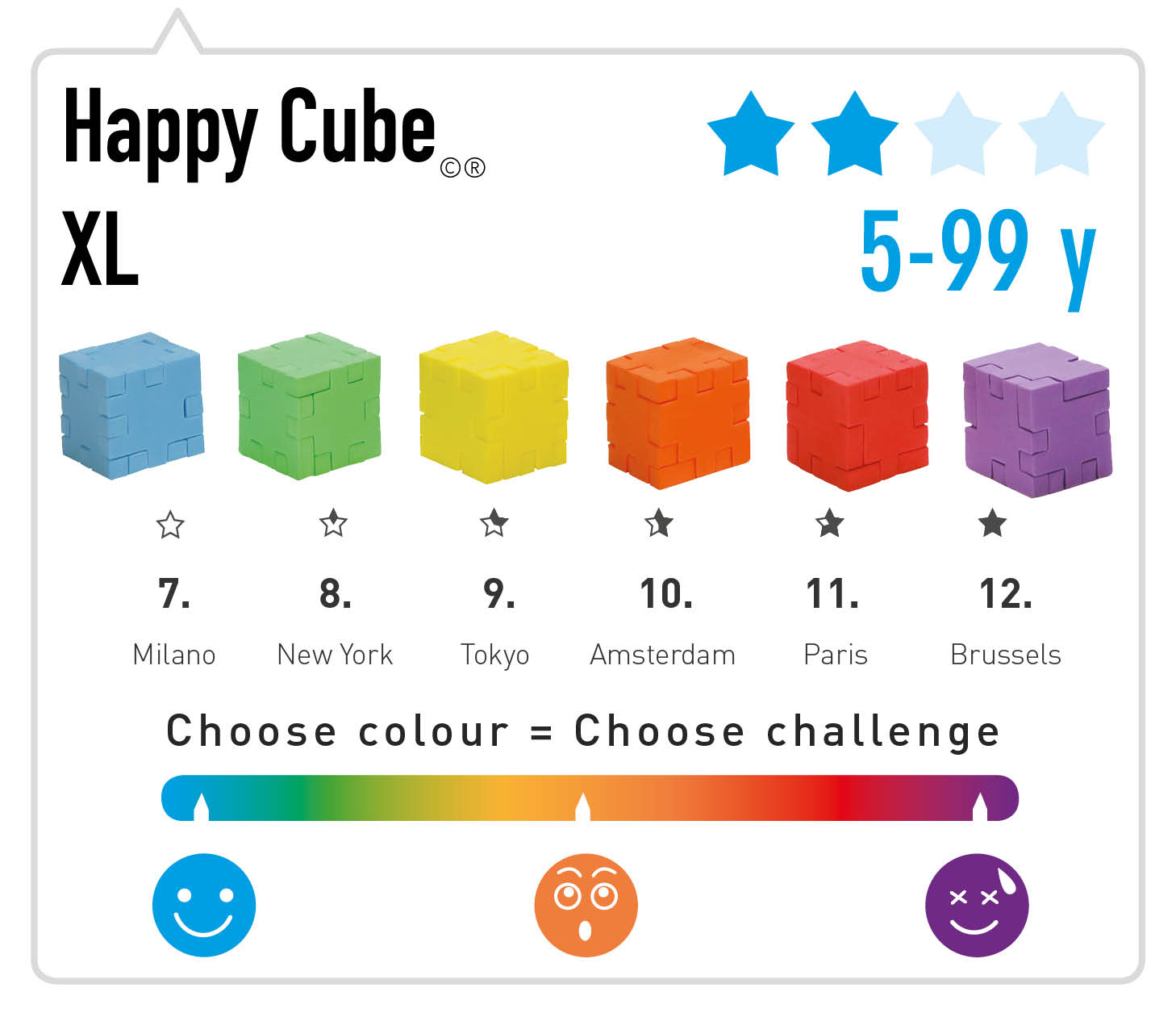 Happy Cube XL Product info