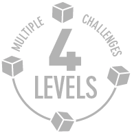 Challenges in 4 levels