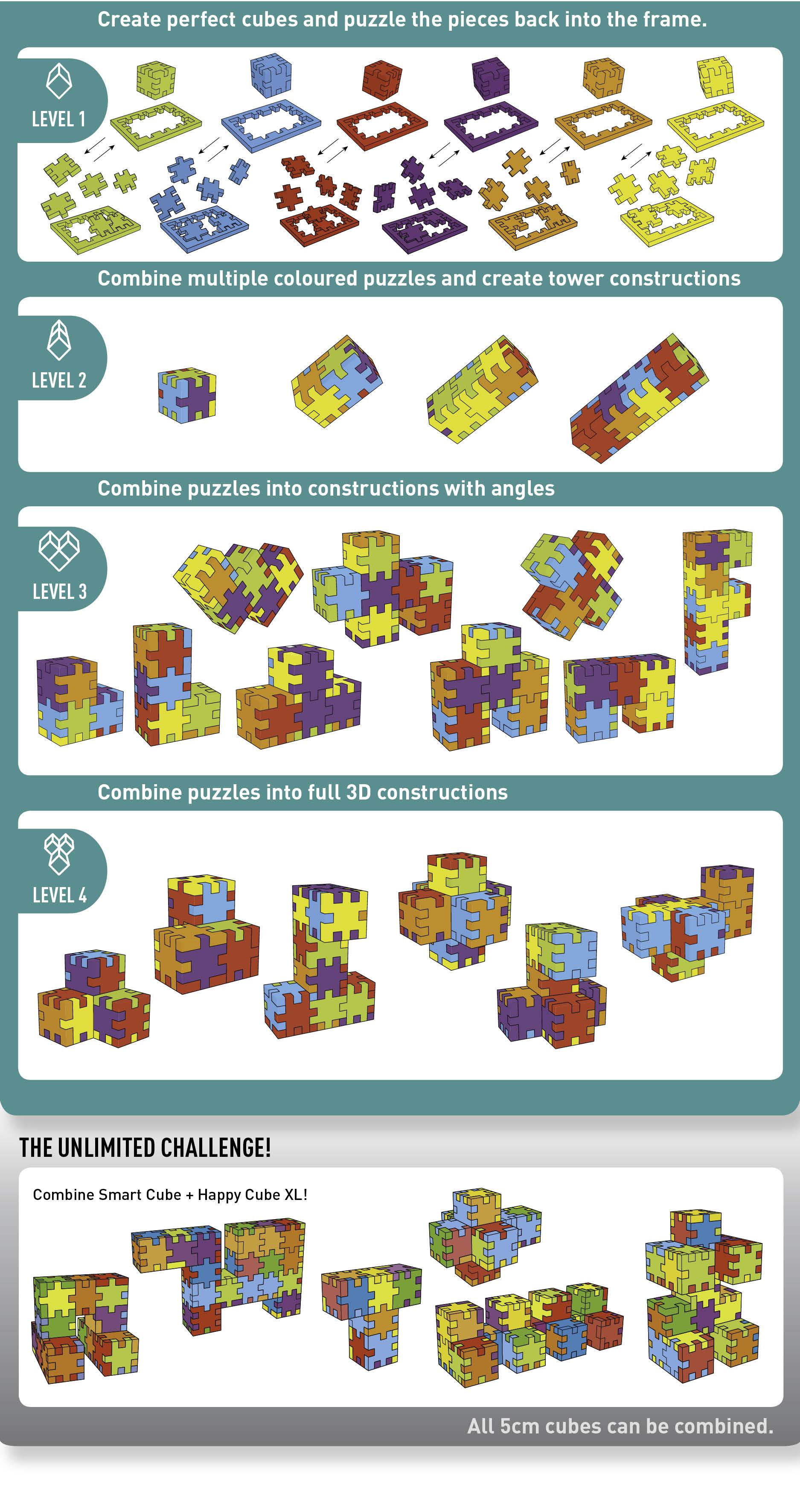 Levels smartcube